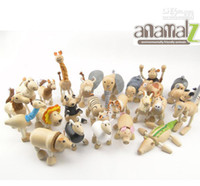 Wholesale Maple Animal - Maple animal Australia Anamalz organic maple wooden animal dolls farm educational toys wildlife