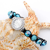 Teboer Jewelry 3pcs / LOT Crystal Crystal Pavê Bracelet Watch WJ14420