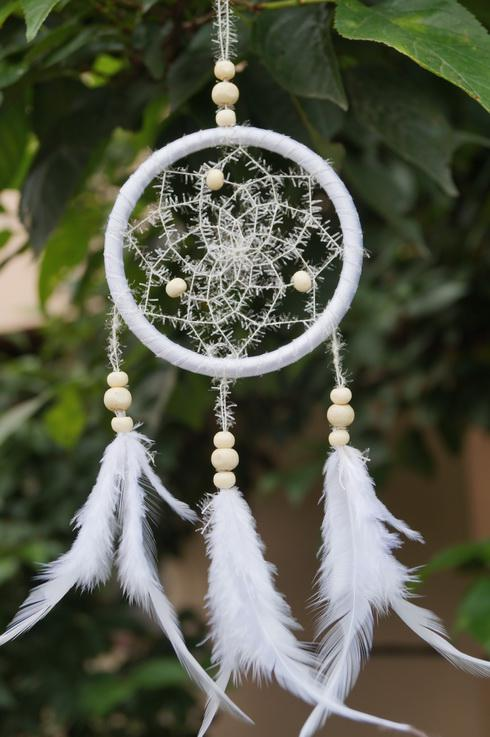Nice Dream Catchers new arrival SNOW dream catcher DIA4040 inch 40 from michle19840 13