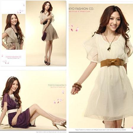 2013 Hot Western Style Fashion Women Dress Elegant Summer Chiffon ...