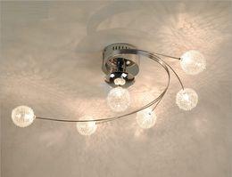 $enCountryForm.capitalKeyWord Canada - Modern Aluminum Pteris Living Room Ceiling Lamp Dining Room Creatived Chandelier Fixtures Bedroom Study Room Phoenix-tailed Ceiling Lights