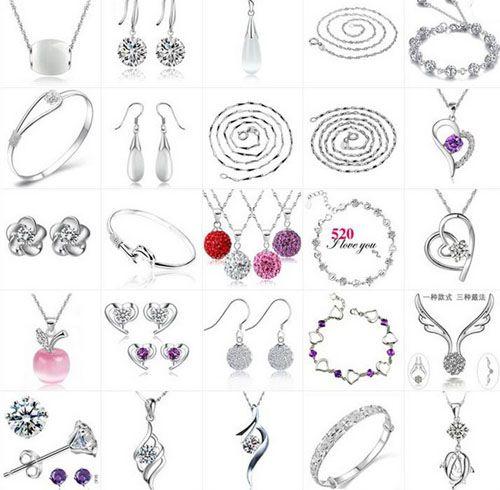 Ensemble de bijoux de mariage Femmes Mode 30% 925 Sterling Silver Penant Collier / Bague / Boucle d'oreille / Bracelet / Bracelet Bohemian Bijoux de mariage à la mode