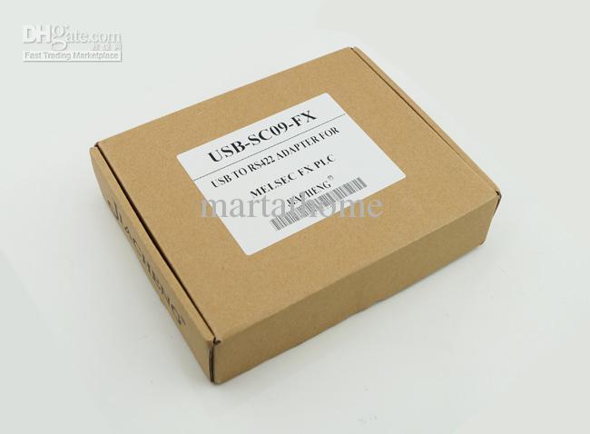Cable de programación de PLC Mitsubishi USB-SC09-FX MELSEC SC-09 SC09 FX # BV024 @CF