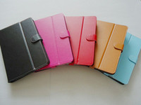 Wholesale Sanei Case Inch - High quality 10 inch PU leather case for 10 10.1 10.2 inch Tablet PC flytouch U30GT C91 sanei N10 Samsung Galaxy Tab N8000 P5100 P5200