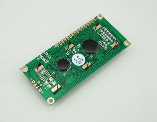 10 Pz / lotto 5 V Display LCD Modulo Display LCD LCM 1602 HD44780 16X2 162 Retroilluminazione Blu # BV060 @CF