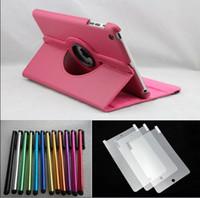 Wholesale Ipad Mini Case Pen - 1Best Price 120pcs leather case for ipad mini +120pcs screen protector +120pcs Stylus pen