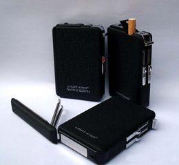 Wholesale Ejection Cigarette Case - Best price Automatic Lighter Pocket Ejection Butane Cigarette Case