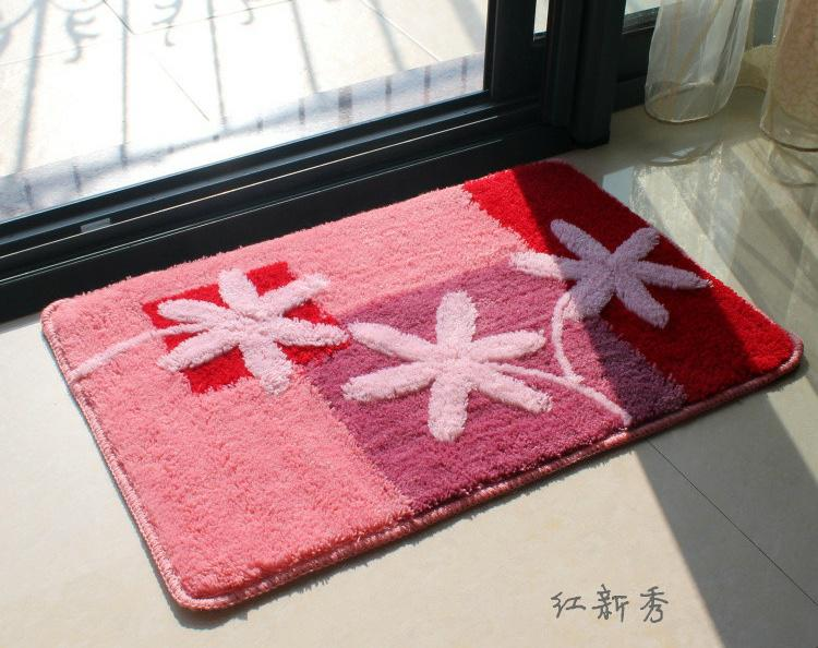 Floor Mat 40x60cm Good Quaity Foot Rugs Absorbs Wate Colorful Bath Bedroom Mat  Door Mat Interface Carpet Online Carpets From Spring_china, $35.18| Dhgate.