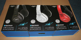 Wholesale Sync Ear - SMS KS770 Sync by 50 cent wireless over-ear noise reduction headphones Black White Red 1pc