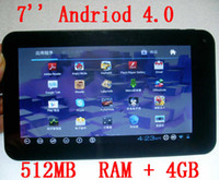 Wholesale Tft Wide - 7 inch 16:9 wide TFT LED screen Android 4 flat panel computer, MID-3389 Tablet pc,
