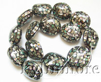 Wholesale 8SE05926a x30MM Paua Abalone Shell Oval Beads