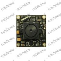 Wholesale Dsp Ccd Board Camera - Mini HD SONY Effio 700TVL DSP CCD PCB Board CCTV Camera 2.8mm Pinhole MIC