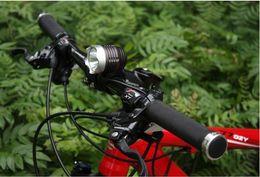 Lampara led xm l t6 bicicleta online-Envío gratis 1600LM CREE XML XM-L T6 LED Lámpara de bicicleta Lámpara de luz principal 1x 8.4v 6600mAh batería NUEVO