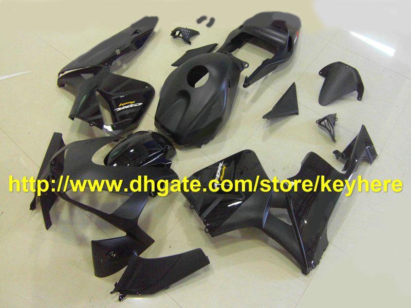 novo! falt lustroso preto Kit de injeção para HONDA CBR600RR 2003 2004 CBR 600RR 03 04 F5 carenagem RX4g bf