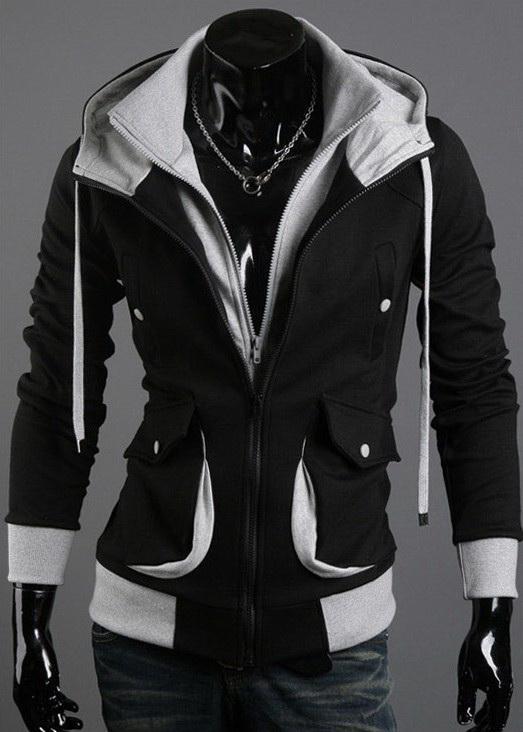 NOUVEAU Sweat à capuche en velours style Desmond Assassin's Creed