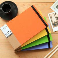 Wholesale Diy Handmade Photo Album - Smile Handmade Album DIY Photo Albums Booklet Yearbook Scratch Pad Frames Albums A4 & A5