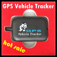 Wholesale Gps Tracking Device Sms - Tracking Device 2013 Newest Mini GPS Vehicle Tracker GSM SMS GPRS Network