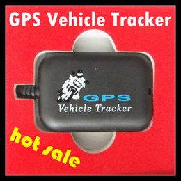 Wholesale Tracking Device Alarms - Tracking Device 2013 Newest Mini GPS Vehicle Tracker GSM SMS GPRS Network