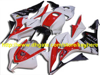 Wholesale 22 Mold - PLUST red white Injection ABS fairing for CBR600RR 2007 2008 ,CBR 600RR 600 RR F5 07 08 22 RX5n a3