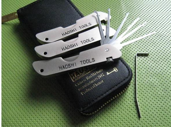 Serrature tasca della serratura set coltello a serramanico - JPXS-6 strumenti grimaldello della serratura