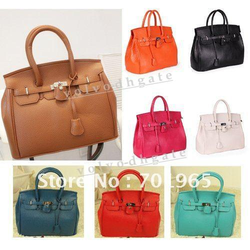 2013hot Celebrity Girl Faux Leather Handbag Tote Shoulder Bags ...