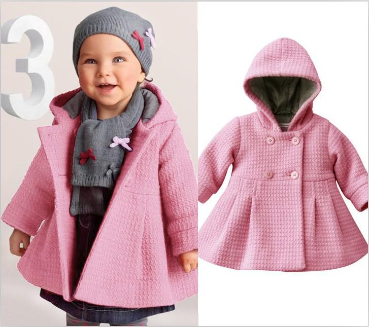 New Style Girls Baby Winter Warm Coats New Children Overcoat Baby ...