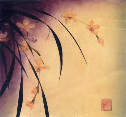 2018 Unique Abstract Chinese Flower Word Painting Hot Sell ...