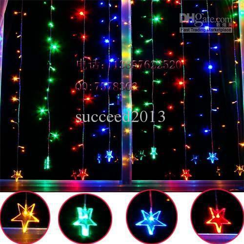 2018 christmas lights window decoration married decoration 12 2 meters five pointed star led holiday lights from succeed2013 4043 dhgatecom