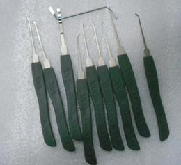 Livraison gratuite Key Lock Pick Set 9 pièces choisir des outils de verrouillage Avancé, outils de serrurier ? partir de fabricateur