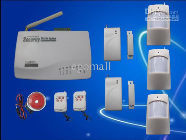 Neue Wireless GSM Home Security Alarmanlage Systemwahl Dialer SMS Anruf