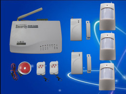 SmS home alarm online shopping - New Wireless GSM Home Security Burglar Alarm System Auto Dialing Dialer SMS Call