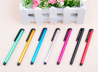 Capacitivo touch screen penna stilo per iPhone iPad Air Mini Samsung Galaxy Tab HTC Cell Phone Tablet PC