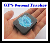 Wholesale Hot Kids Sms - Hot sale Mini Personal Tracker for pet kids GPS SMS SOS Voice Real-Time Tracking