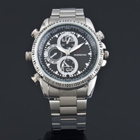 Wholesale Spy Watches 4gb - Waterproof spy watch Hidden Camera Build in 4GB Wrist Watch with Hidden Camera DV Y589 photo taking