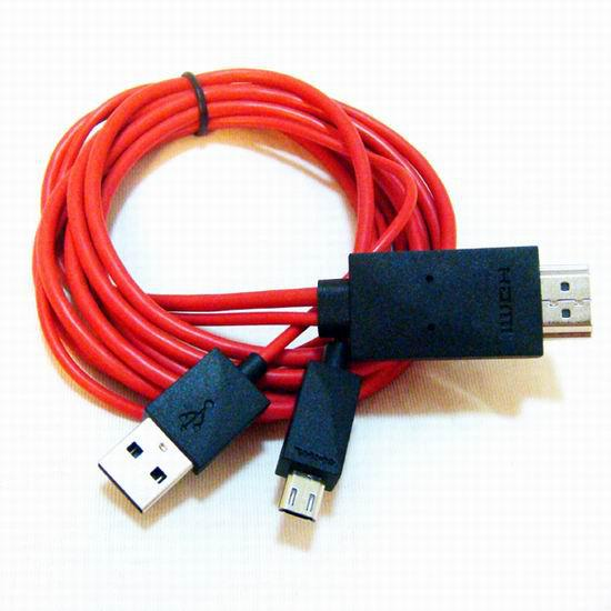 New Smart Cable Adapter For Galaxy S3 Mobile Phone To HDTV HDMI Adapeter Cable