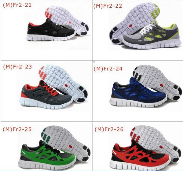 2013 free run 2 barefoot running shoes flexiable