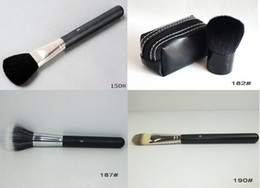 Wholesale 187 Brush - 8 Pieces Professional Makeup Tools New 150#,182#,187#,190# Powder Brush,Face Brush Four kinds of