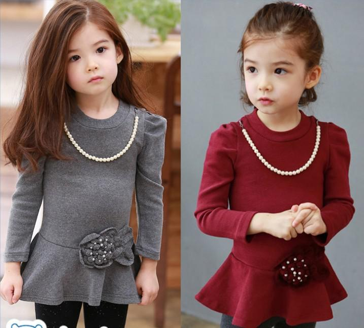5f9a8f2b 2019 Girl Clothes Children Pearl Necklace Flower Dress Factory Price Girl  Dresses Kid Wear Good Seller From Ian520, $21.04 | DHgate.Com