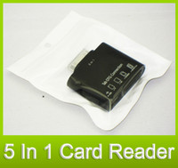 Wholesale Card Reader Galaxy Tab - 5 in 1 USB Camera OTG Connection Kit TF SD Card Reader for SAMSUNG GALAXY Tab P7500 P7510 P7300 P731