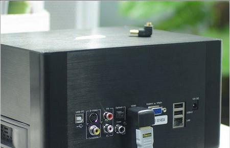 VENTA CALIENTE Chapado en oro HDMI macho a HDMI hembra adaptador / convertidor de 90 grados