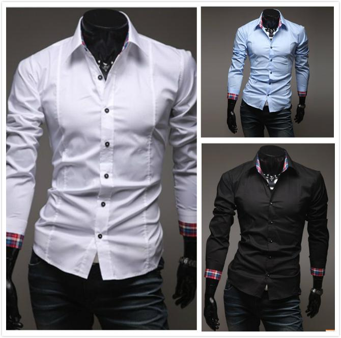 1920f06e 2019 New Arrival Top Quality Brand Mens Imported Clothing Mens Dress Shirts  Men Silk Slim Long Sleeve Shirts From Beautifulzcj, $14.99 | DHgate.Com
