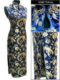 Wholesale Cheongsam Phoenix - Wholesale -women dresses phoenix chinese cheongsam women's evening dress wedding dress S-2XL
