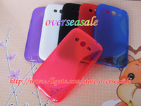 Wholesale Skin Galaxy Duos - S line Wave Soft TPU Gel clear skin cover case For Samsung Galaxy Grand Duos i9080 i9082 20pcs 30pcs