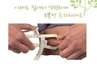 Wholesale caliper body fat - Pop Keep Slim Body Fat Tester Measuremen Personal Body Fat Caliper Tester Accurate With Instructions