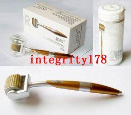 Derma roller zgts titanium online shopping - Retail ZGTS derma roller titanium needles Titanium alloy needle derma roller skin beauty roller Microneedle Roller