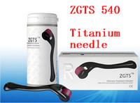 zgts titan derma micro nadel großhandel-Nagel-Derma-Rolle Einzelhandel ZGTS Titanlegierung 540, Mikro-Nadelhaut Derma-Rolle. 10 Stück / Los