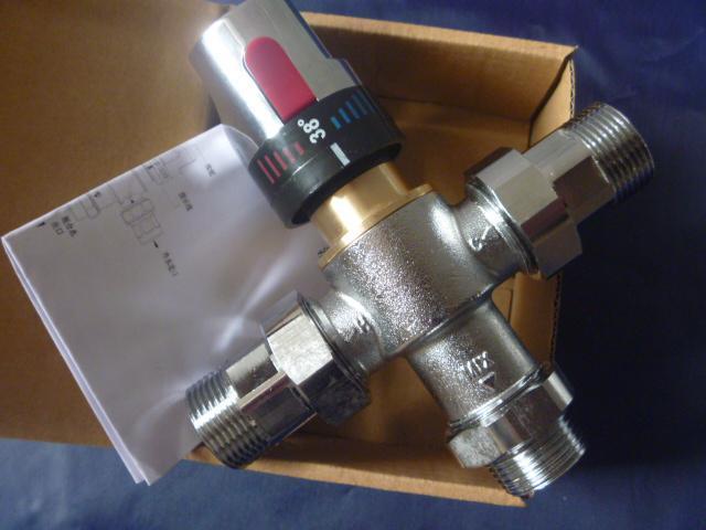 サーモスタットバルブサーモスタットミキサーミキシングバルブ真鍮温度制御器