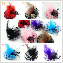 Wholesale Girls Fascinators - Free Shipping Discount Hot Fashion Girls Feather Hairpin,Kids Hair Accessories,Fascinators And Mini