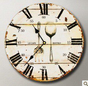 high quality wall clock pocket watch rustic fashion decoration clock woody kitchen res clocks buy clocks buy online from 230 dhgatecom