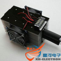 Wholesale Free Electronic Module - Free Shipping!The DIY electronic Peltier Module refrigerator DC chiller CPU auxiliary water-cooled 2